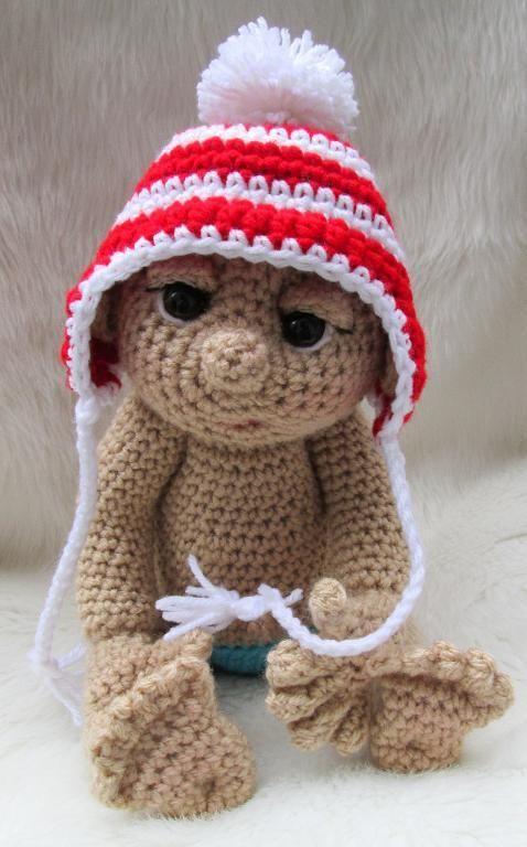 Free Pattern, So Cute Baby Ear Flap Hat Haakpatronen ...