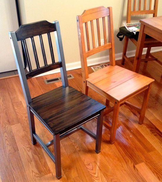 Refinish Kitchen Table: Refinishing Old Dining Room Set