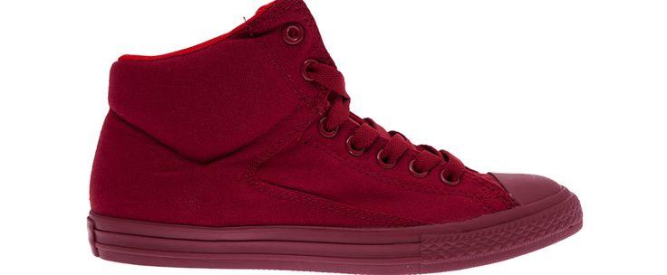 Αυτή την ευκαιρία δεν πρέπει να την χάσεις:CONVERSE - Παιδικά παπούτσια Chuck Taylor All Star High Str κόκκινα στην μοναδική τιμή των...