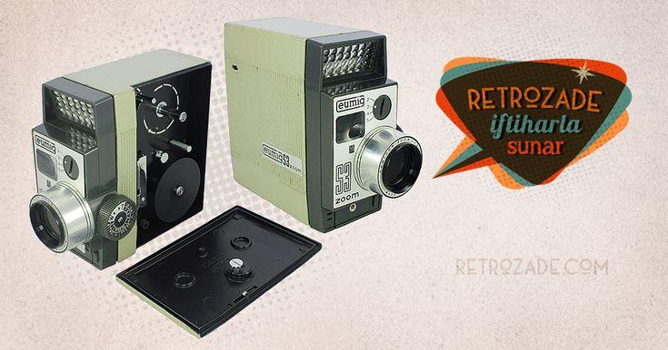 Eumig S3 Zoom 8mm Vintage Film Kamerası