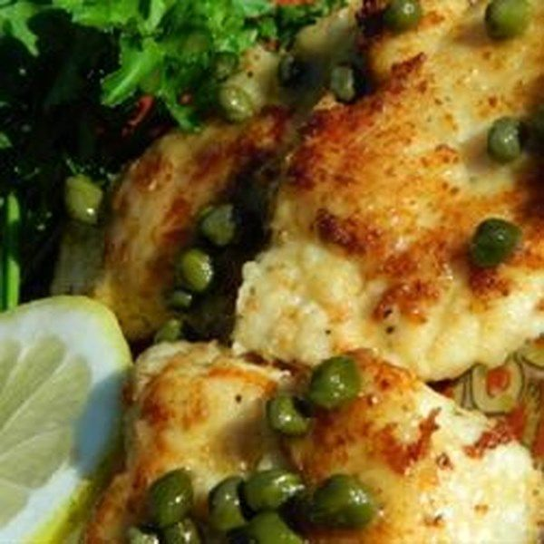 """My Best Chicken Piccata 