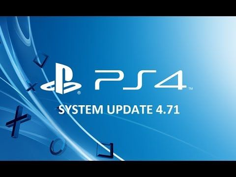 PS4 Firmware 4.71 Update Available - Improves System Performance & Stabi...