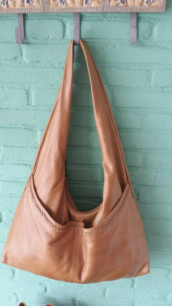 Check out this item in my Etsy shop https://www.etsy.com/listing/270896783/large-leather-slouch-bag-tan-leather