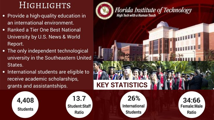 Florida Institute of Technology. Florida's second largest private college, offers degrees in a wide variety of science and engineering fields!!!