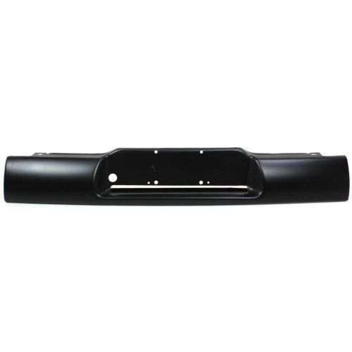 1995-1997 Chevrolet Blazer Step Bumper, Black, Steel