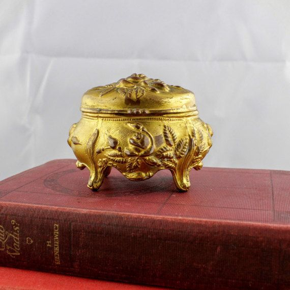 Art Nouveau Jewelry Box by Brainard and Wilson  by LoAndCoVintage