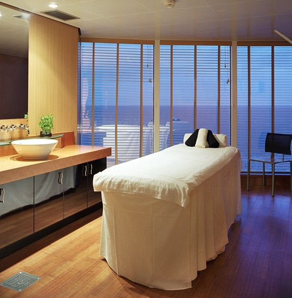 Spa on Crystal Serenity, Crystal Cruises