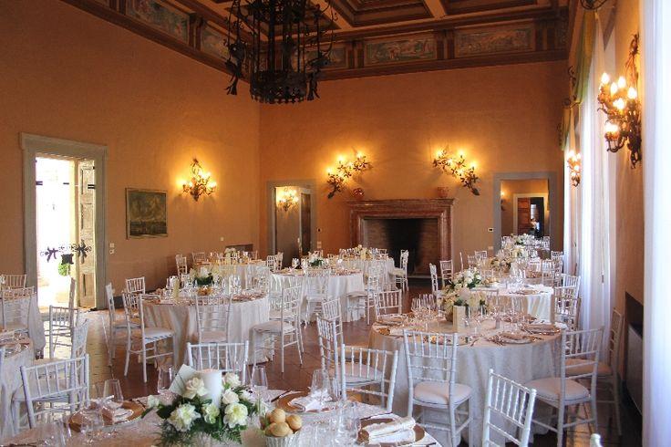 Salone principale #villaaffaitati #italy #chiavarinachair