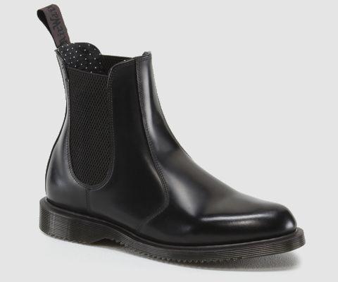 Flora ankle boots by Dr Martens / Black