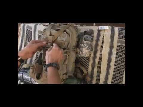 Mochila de campamento supervivencia bushcraft - YouTube