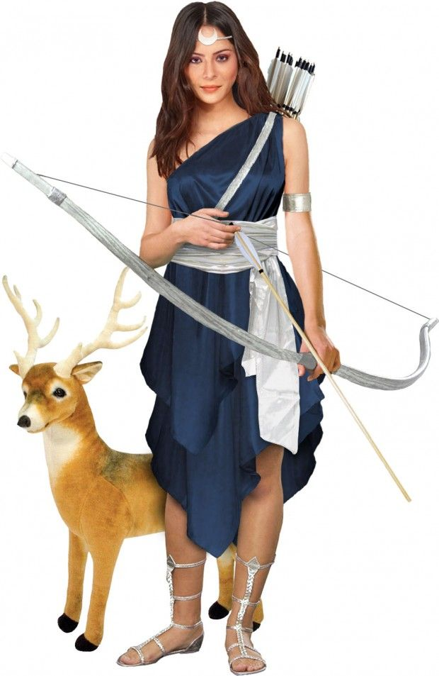 Artemis is the Greek goddess of the wilderness, mistress of the moon, and patron of untrammeled womanhood.