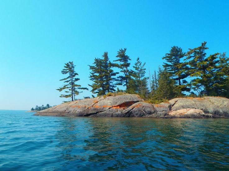 More pretty rocky islands in Georgian Bay, near Whitefish Falls