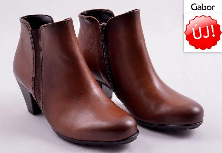 Mai napi Gabor bokacipő ajánlatunk! Elegáns divatos viselet a szép őszi napokban :)  http://valentinacipo.hu/gabor/noi/barna/bokacipo/146850341  #gabor #gaborwebshop #Valentinacipőboltok — Megjelenített termékek: Gabor barna bokacipő - 75-645-22