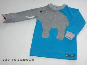 Stich-Tag: Elefanten-Shirt