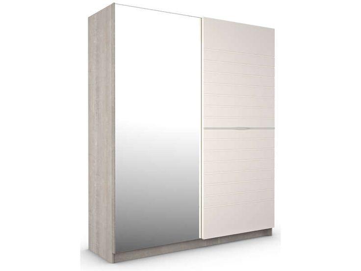 Simple armoire designe conforama armoire portes acacia for Armoire blanche conforama