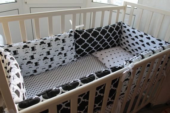 Are you looking for something for your baby boy? So you definetly like Baby bedding set in scandinavian style by MammyDo Shop!  For baby bed 120x60 cm.  Baby bedding set included: * Pillowcase 40x60cm., * 6 bumpers 60x30 cm., * Mattress cover on the bed 120x60 cm.  Also - hand made - unique desighn - hypoallergenic filler, safety for babies - made with love - 100% natural fabric  Im shure you like it! :)  Also, in our store:  Paintings for nursery https://www.etsy.com/shop&#x2F...