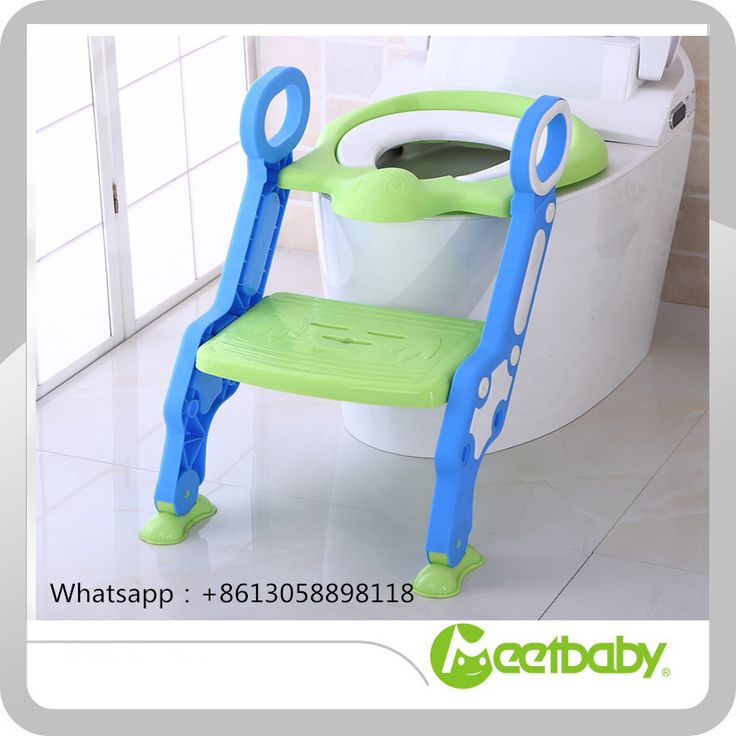 Wholesale Hot Baby Toilet Children Potty Training Ladder To Toilet Folding Pee Trainer Kids Plastic Chair potty