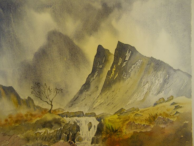 12 x 16 Water colour by C Walters