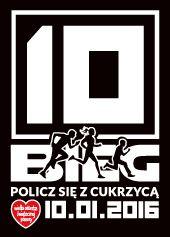 """10. Bieg """"Policz się z cukrzycą"""" już 10 stycznia 2016 roku! Zapisy na stronie: www.bieg.wosp.org.pl"""