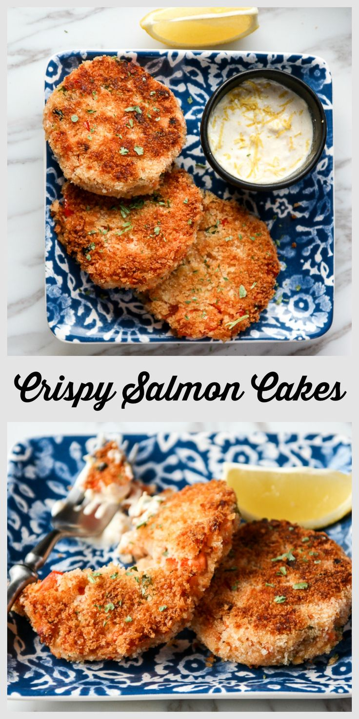 These crispy Salmon Cakes are a delicious way to use leftover salmon. Flaked salmon combined with mashed potato and crisp veggies, in a golden panko crust. Served with a Lemon Horseradish Aoli.