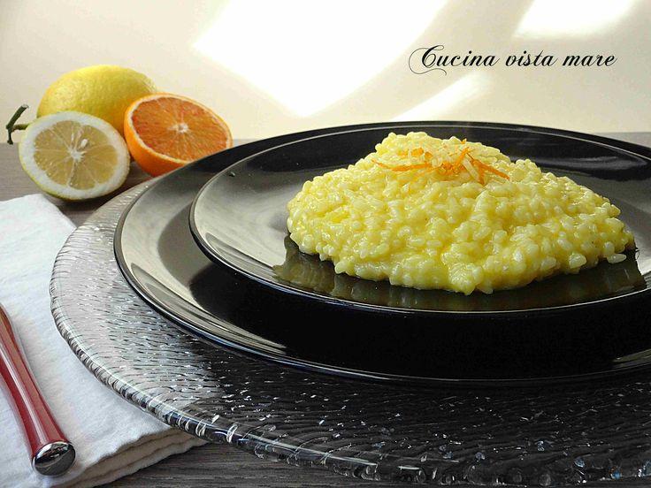 Il risotto agli agrumi: lasciatevi tentare e conquistare dall'aroma degli agrumi, dalla delicatezza del formaggio e dalla cremosità di questo risotto!