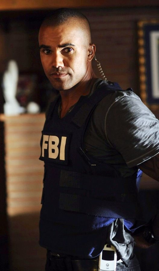 Shemar Moore as Derek  Morgan Criminal Minds