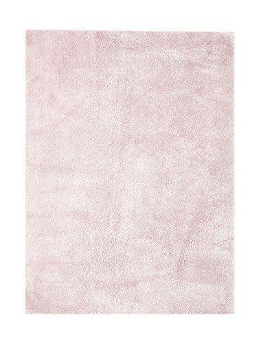 Teppich Wohnzimmer Carpet Hochflor Shaggy Design Bali 110 Rug - teppich wohnzimmer grau