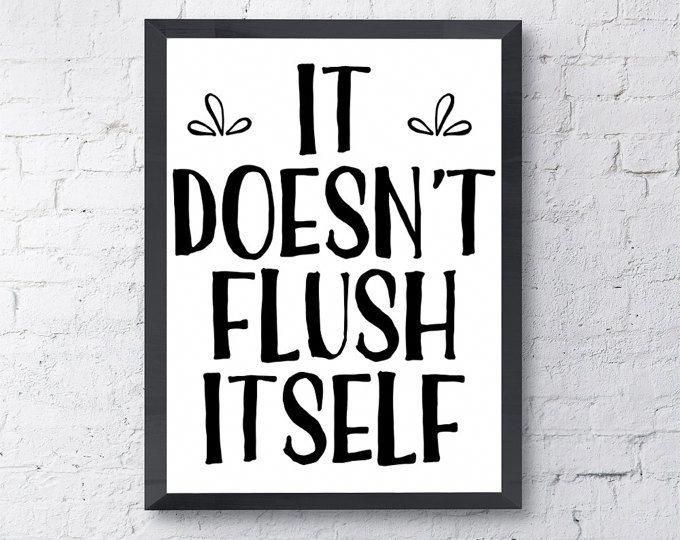 Take A Look At This Important Pic In Order To Check Out The Here And Now Info On Bathroom Ideas Diy Decor Bathroom Signs Funny Bathroom Signs Bathroom Canvas
