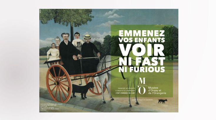 Orangerie ve Orsay Müzelerinin Ödüllü Reklam Kampanyası