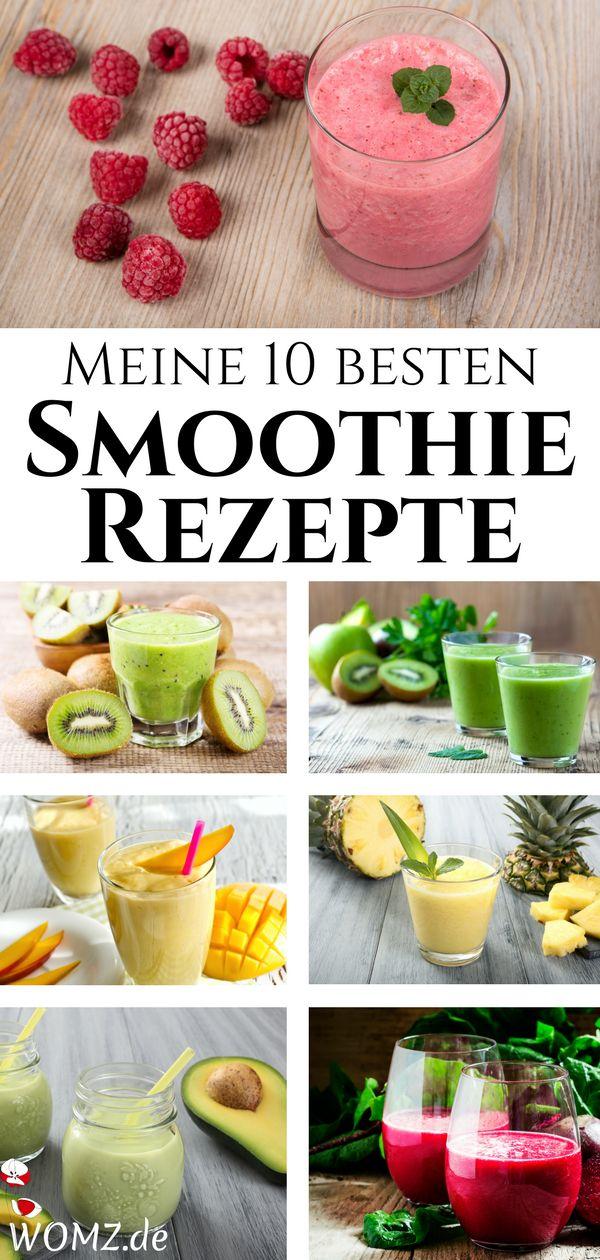 Meine 10 besten Smoothie Rezepte – WOMZ