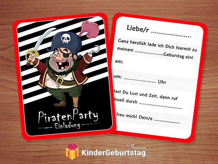 einladungskarten kindergeburtstag selbst gestalten