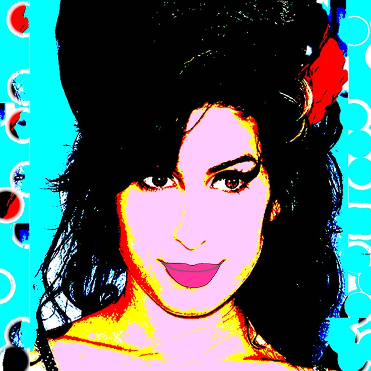 A portrait of Amy Winehouse a great blues Diva with a velvet voice. Original art by Rico Ovadia, printed on a canvas then mounted for hanging. Can be printed any size that suits your home. email rickovadia@hotmail.com
