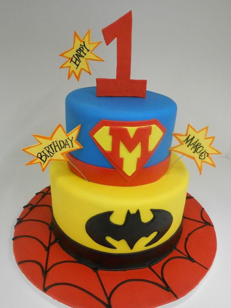 25+ best ideas about Superhero First Birthday on Pinterest ...