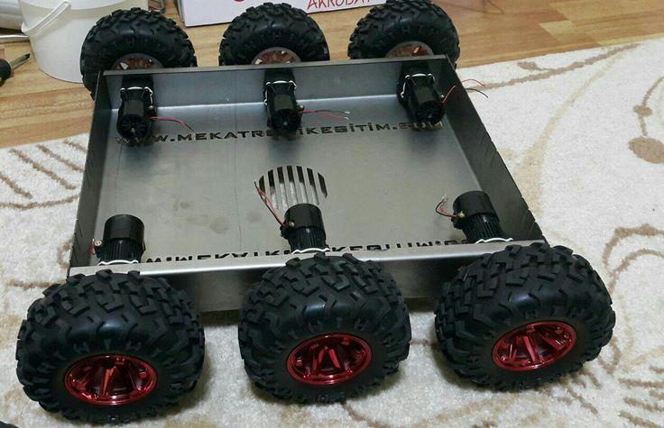 Mekatronik eğitim robotu
