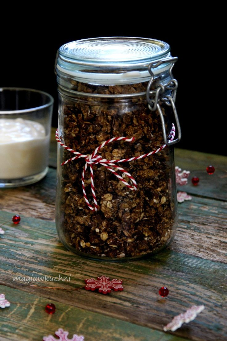 Granola kawowo- piernikowa / Granola Coffee - gingerbread.