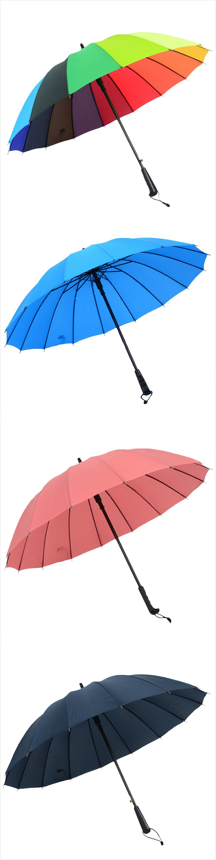 A stylish and durable companion for all the rainy days,Cozy Home umbrellas will keep you dry under the most intense downpours. With a strong Umbrella ribs, you can never fear it collapses or flip inside out.