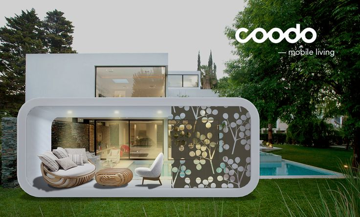 30 best coodo renderings images on pinterest mobile for Smart house container
