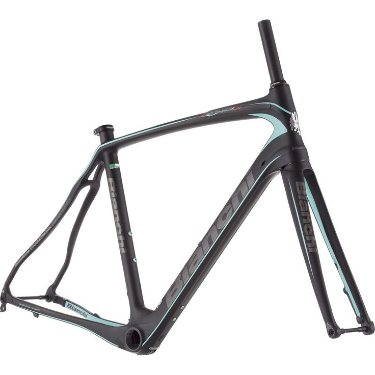 Bianchi Infinito CV Disc Road Frameset - 2017 ✅ The 2017 Bianchi Infinito CV Disc Road Frameset is redefining how we conceptualize race bikes. In stark contrast to the super-aggressive, slammed geometrie