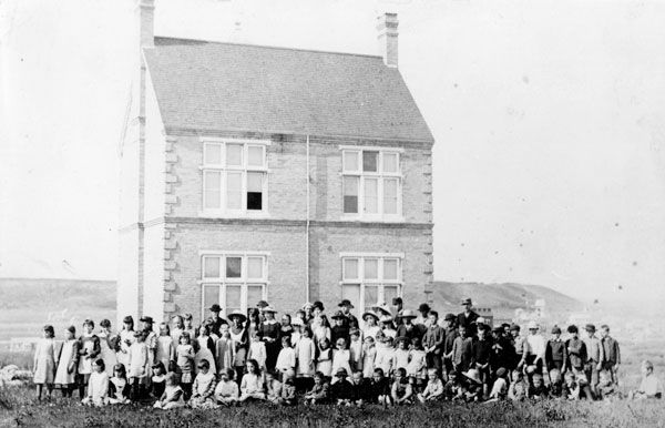 Minnedosa South School | First school built in the vicinity of Minnedosa, Manitoba in 1883 located southwest of the village