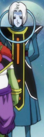 Mojito (モヒイト Mohi'ito) es el Ángel del Universo 9, sirviente y maestro de artes marciales del Dios de la Destrucción Sidra. Es un personaje de la Saga de Supervivencia Universal de Dragon Ball Super. Su nombre es tomado del Mojito, un popular cóctel originario de Cuba, compuesto de ron, azúcar, limón, menta o hierbabuena y agua mineralizada.