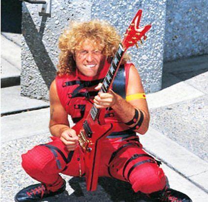 """Sammy Hagar """"The Red Rocker"""""""