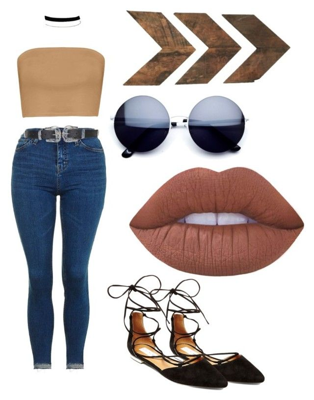 """Untitled #73"" by katelin-louise on Polyvore featuring Boohoo, Steve Madden, Topshop, Miss Selfridge and Lime Crime"