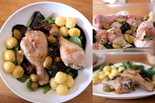 КУРИЦА MARBELLA, ПРИГОТОВЛЕННАЯ В ВИНЕ С ЧЕРНОСЛИВОМ, ОЛИВКАМИ И КАПЕРСАМИ - Beautiful food | Красивая еда