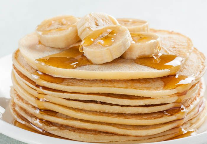Bananpannkakor http://alltommat.se/ingrediens/bananer/