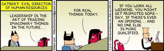 #Leadership #FutureCEOs #Business #Management #FridayFunnies #JustForLaughs Thank you @Dilbert_Daily