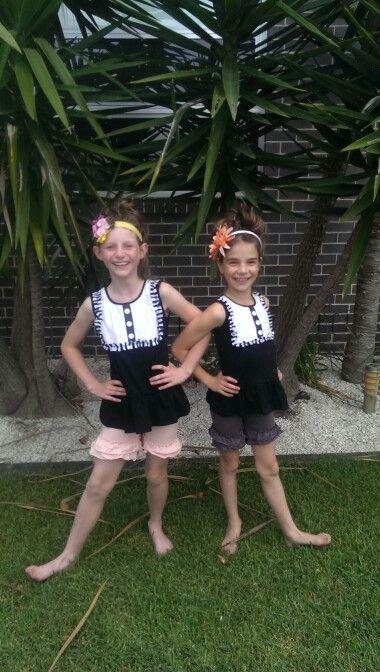 #girlsboutiqueclothing. Rufflelicious tops with matching double ruffle shorts.