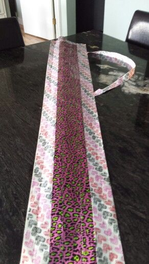 Duck Tape ringette/hockey stick bag