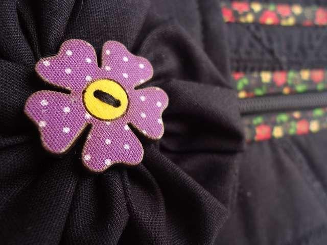 Destalhe de bolsa em patchwork
