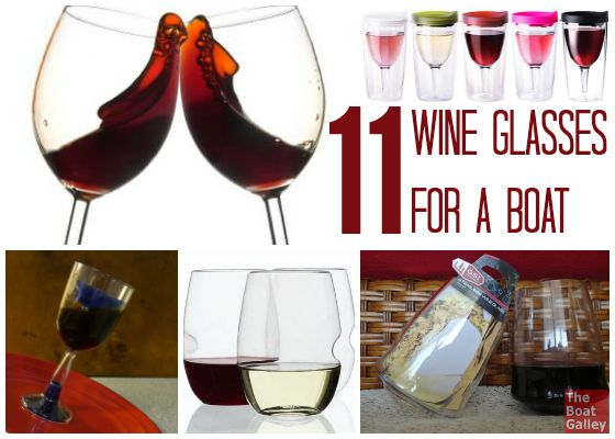 The best wine glasses for camping or boating? Whether you want glass stemware, unbreakable stemless or even a glass that will keep the bugs out, there are great options.