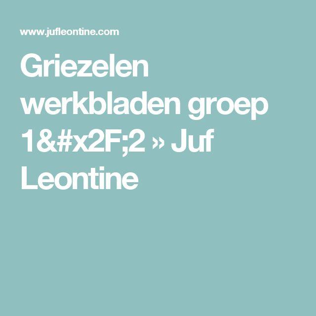 Griezelen werkbladen groep 1/2 » Juf Leontine